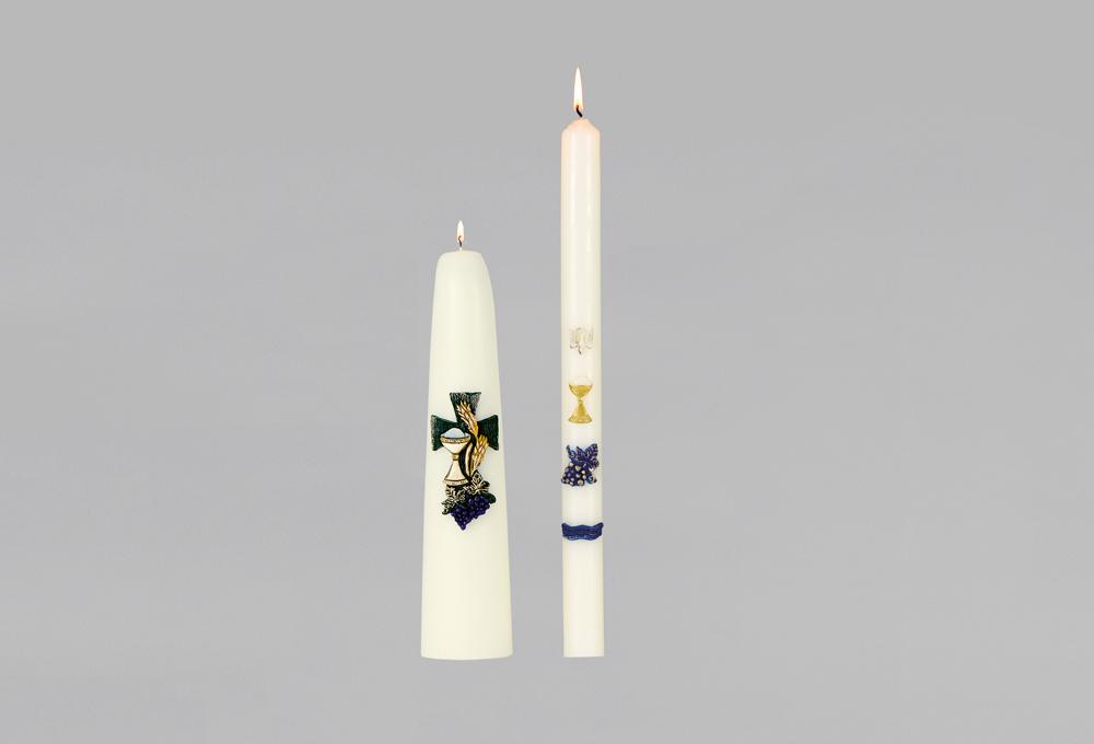 Liturgische Kaarsen Kopen.Eerste Communie Kaarsen Boca Kaarsen
